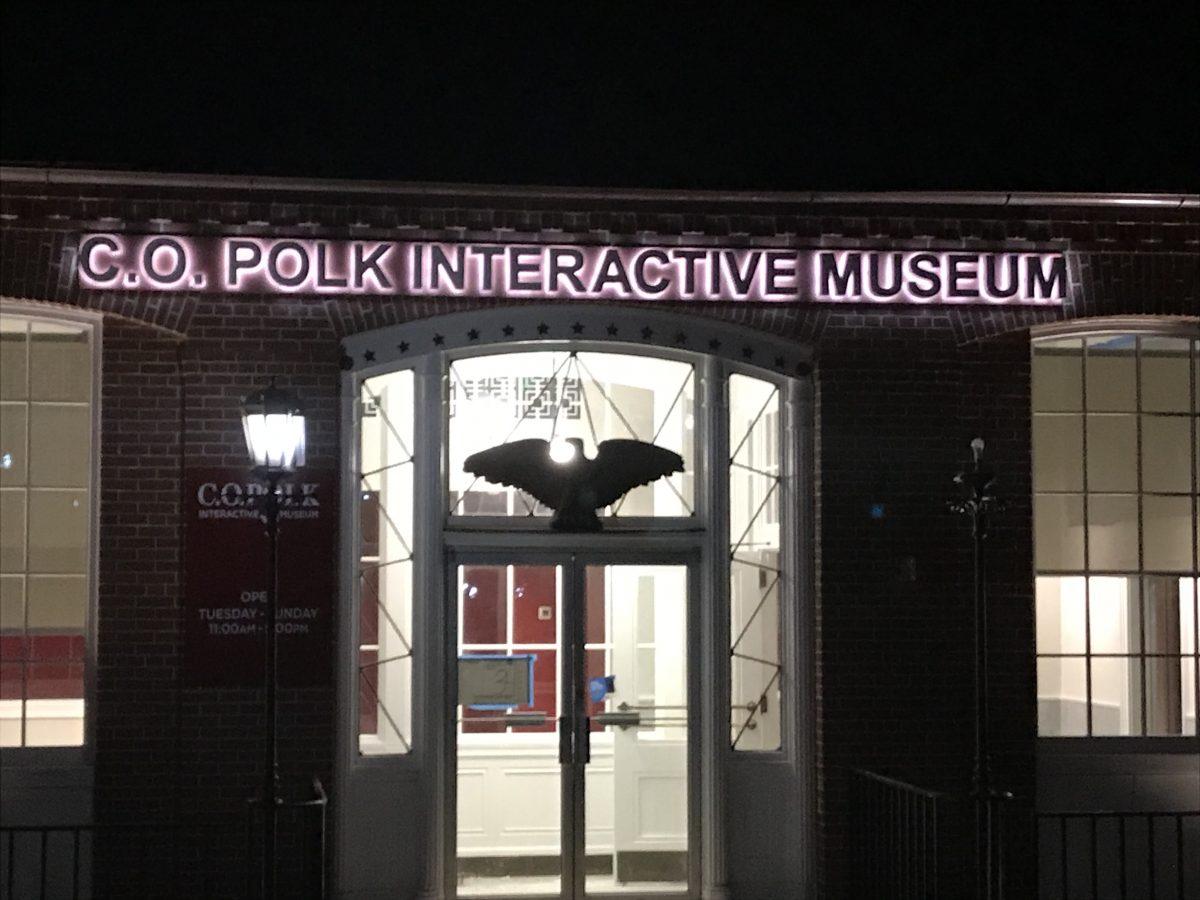 Museum Exterior Signage