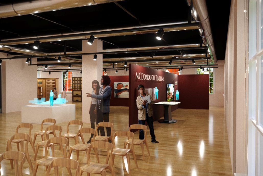 C.O. Polk History Museum Concept Rendering